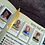 Thumbnail: Elegant Golden Feather Bookmark