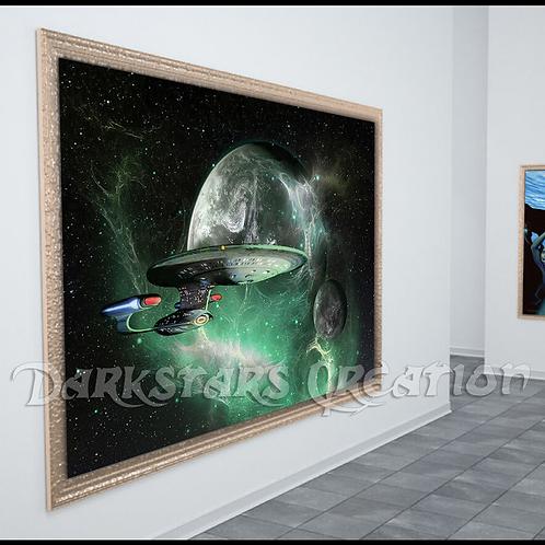 Enterprise D - Star Trek TNG