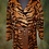 Thumbnail: Beautiful Antique Tiger Stripe - Real Hair - Exotic Autumn Coat