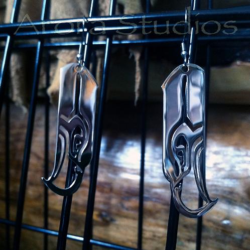 Seattle Sea Hawk Fan - Tribal Hawk Stainless Steel Jewelry