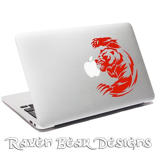 Charging Bear - Laptop or Car Decal