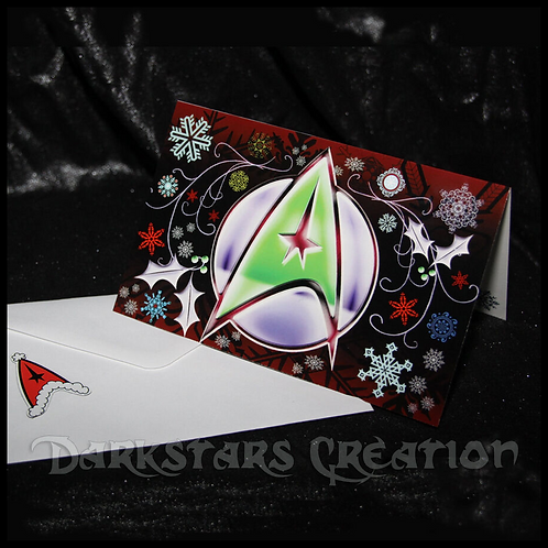 Trek The Halls with Awesome! - 2 Star Trek Christmas Cards!