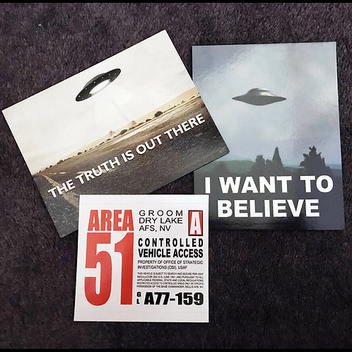 Area 51 - Groom Lake AFB - Mini Poster Collection