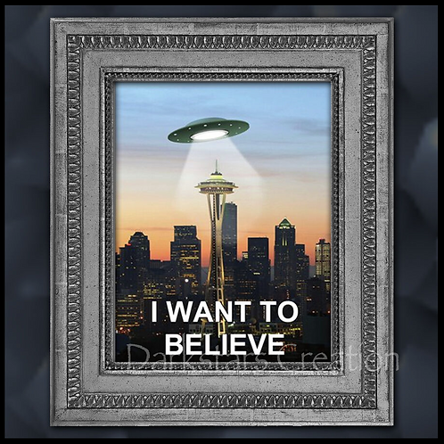 "The Truth Is Out There! ""Space Needle"""