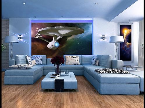 "Enterprise NCC 1701-A - ""Boldly Go"""