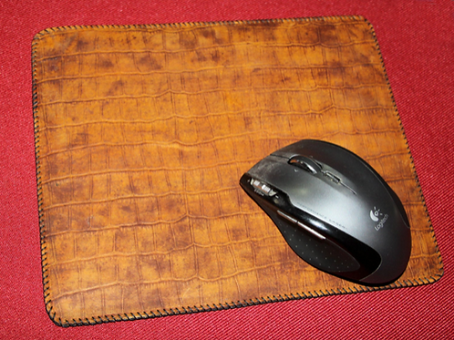 Exotic Animals - Real Leather - Custom Mouse Pads