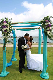 Beach Wedding in Mission Bay at Ventura Cove