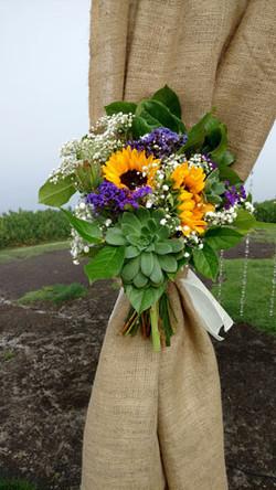 Sunflower Tieback