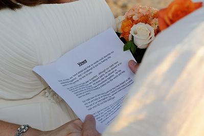 beach weddings in san diego, wedding vows, renewal of wedding vows