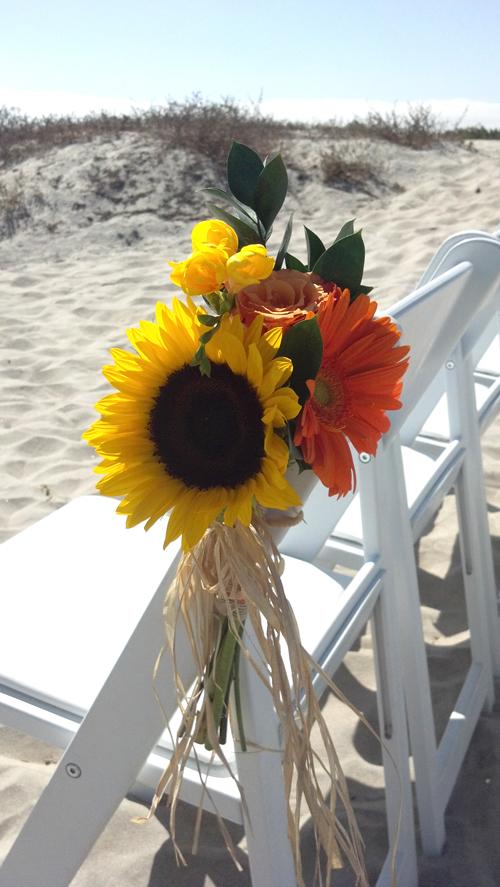 Sunflower Raffia