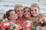wedding party flowers created by san diego florist