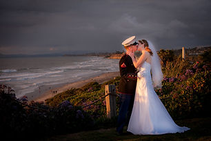 wedding vow renewals on the beach in Del Mar