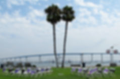 Get Married in Coronado at Tidelands Park