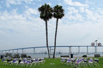 Tidelands Park Coronado Beach Weddings