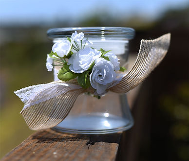 Vintage Sand Jar for San Diego Beach Wedding