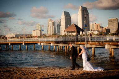 renewal of wedding vows at ferry landing park