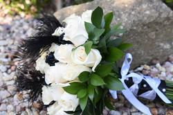 tuxedo & feathers