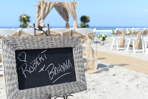 boho beachy vow renewal in la jolla