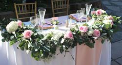 Sweetheart Table Garland