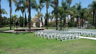 Administrative Courtyard in Balboa Park in San Diego California