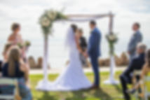 Birchwod Wedding Arch for San Diego Beac Wedding