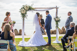 Birchwood Arch with Live Florals
