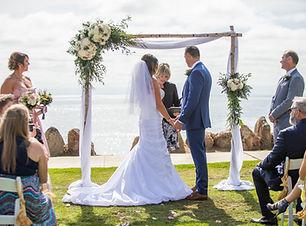 Beach Wedding at Calumet Park in La Jolla