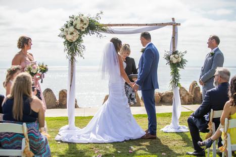 san diego coastal park wedding