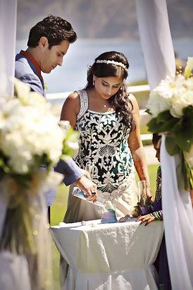 san diego beach wedding unity sand ceremony seaside wedding vows