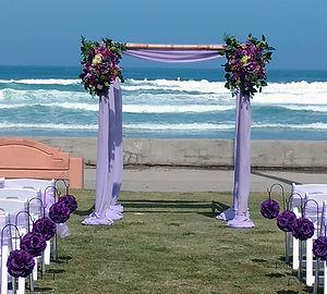 Beach Wedding at Kellogg Park La Joll