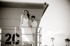 elope to coronado beach wedding