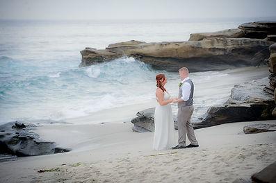 Windansea Beach Wedding in La Jolla