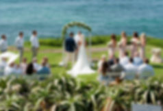 Beach Wedding at the Cuvier Wedding Bowl La Jolla