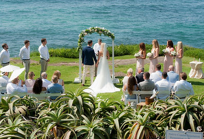 Beach Wedding at the Cuvier Wedding Bowl La Jolla
