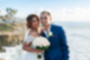 wedding vow renewal at Sunset Cliffs