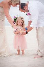 family san ceremony at Coronado Beach