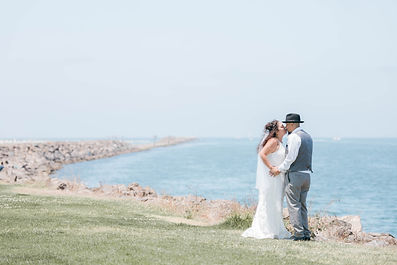 Beach Wedding in Mission Bay Hospitality Point