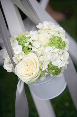 White & Green Bucket