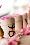 fresh flowers for wedding reception
