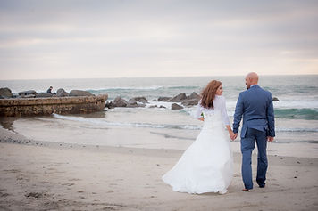 Romantic Coronado Beach Weddings at Sunset!