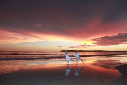 wedding vow renewal at coronado beach