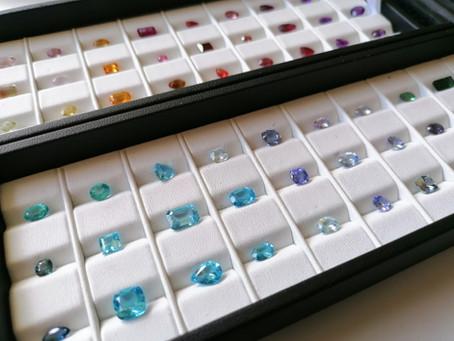 Nouvel arrivage de pierres de couleur !