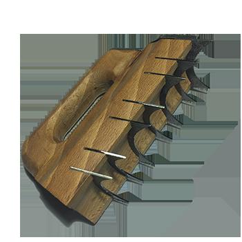 Rabotin creux lisse de 120mm