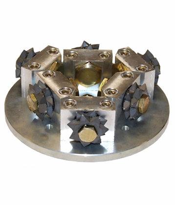 Plateau à boucharder diamètre 150mm 6 molettes