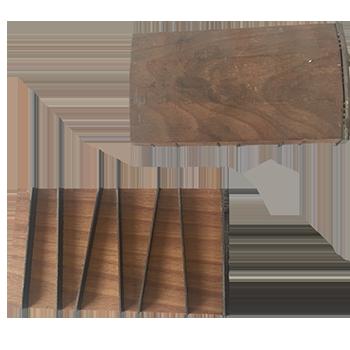 Levrette plate lisse de 70mm