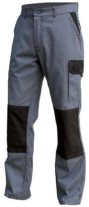 Pantalon de travail Typhon Gris/Noir