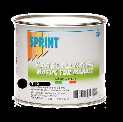 T42 - Mastic Thixotropique Polyester NOIR avec durcisseur - ProduitSPRINT