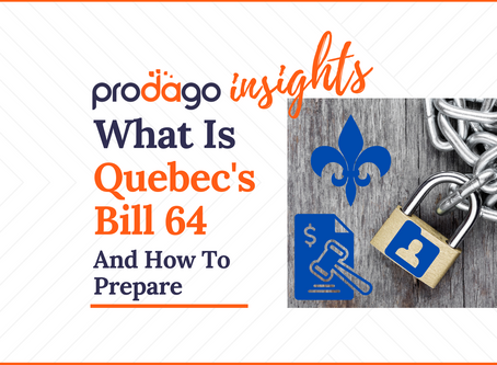 What is Quebec's Bill 64 On Data Privacy And How To Prepare