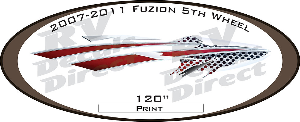 2007 - 2011 Fuzion 5th Wheel