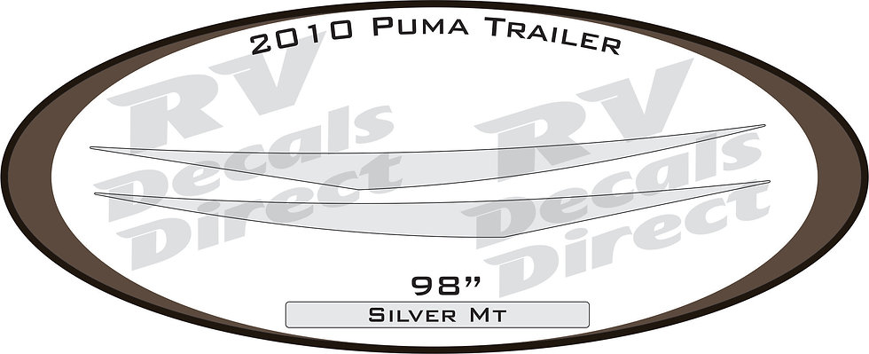 2010 Puma Travel Trailer